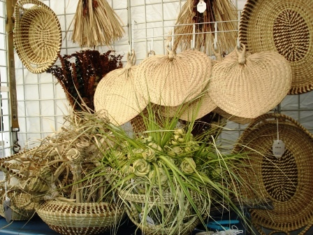 Sweetgrass Baskets and Dry Accessories