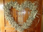 Palmetto  Heart Wreath    22 inches diameter    $250.00