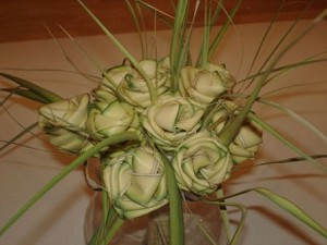 6 Green Palmetto Roses @ $2.66 ea.