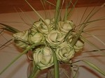 12 GREEN Palmetto Roses @ $1.75 ea.