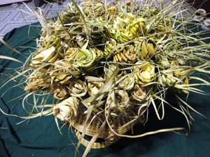 70 Bulk Dried Palmetto Roses @ $1.75 ea.