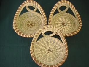 Three piece candy dish set      $100.00